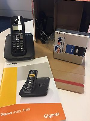 Siemens Gigaset A580 VoIP and Analogue Phone