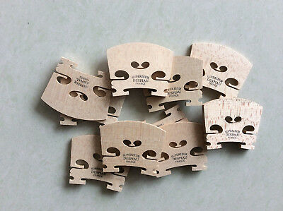 10pcs violin bridges 4/4 Despiau