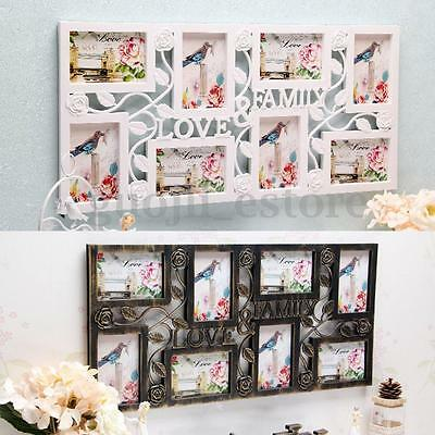 Love Family Display Wall Decor Picture Photo Hanging Frame Collage Xmas Gifts