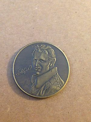"""Evel Knievel """"The Last of the Gladiators"""" Coin"""
