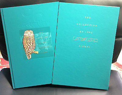 1996 Australian Stamp Collection Year Book Complete With Stamps Australia Post