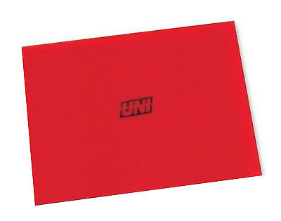 "New UNI 12""x16""x3/8"" 40PPI Universal Red  Coarse Foam Air Filter Sheet BF-5"