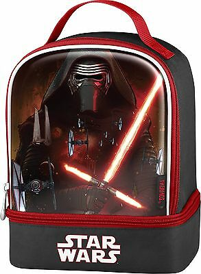 Thermos K35215006 Star Wars Episode VII Dual Compartment Lunch Kit, Kylo Ren