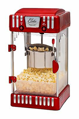 Maxi-Matic EPM-250 Elite Tabletop Retro-Style 2-1/2-Ounce Kettle Popcorn Popper