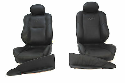 VY SS Seat & Inserts Package Holden Commodore Ute Black Leather Front 92148551