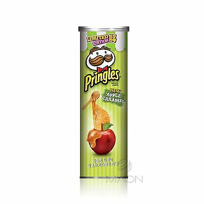 Apple Caramel Pringles Potato Chips 110g(3.88oz) 1ea Limited edition Korea Only