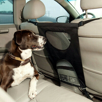 Universal Pet Barrier Mesh Car Suv Dog Safety Auto Travel Pet Back Seat Barrier
