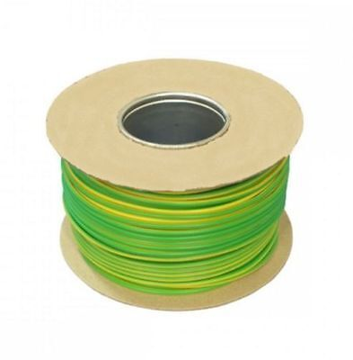 Tri-rated Panel & Conduit Cable 0.5mm² 22AWG 11Amp 600V Green/Yellow (Earth)