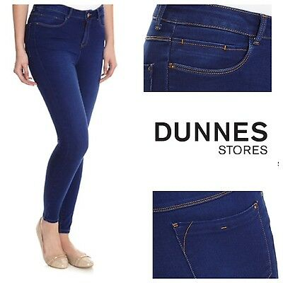 Dunnes Store Women's Bright Blue Jessie Skinny jeans
