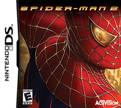(BOX AND MANUAL ONLY) SPIDERMAN 2 - NINTENDO DS / DSi - FREE P&P