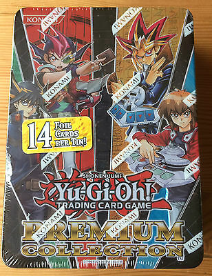 Yu-Gi-Oh! 2012 Premium Collection Tin (14 Foil Cards!) New & Sealed!