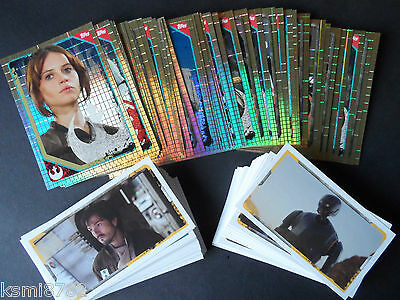 Topps Star Wars  Rogue One Sticker Collection 200 Stickers Set