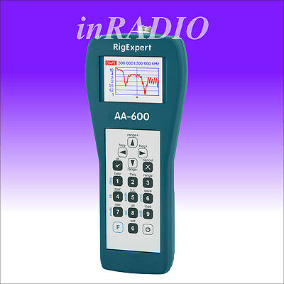 RigExpert AA-600 graphical antenna analyzer 600MHz Smith advanced analyser AA600