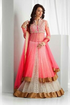 Bollywood Designer Party Wear Indian Lehenga Chaniya Choli Bridal Wedding US