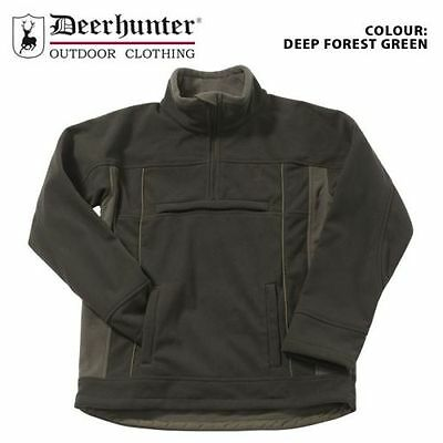 Deerhunter Missouri Green Shooting Smock Waterproof Fleece Anorak