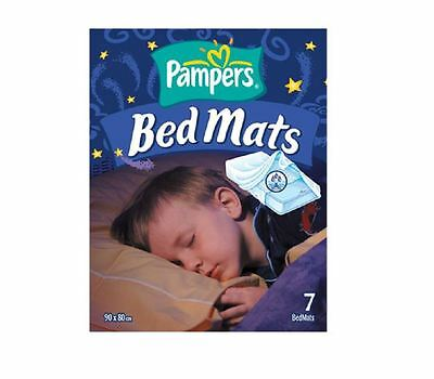 Pampers Bed Mats 90x80cm 7 Bed Mats 1 2 3 6 Packs