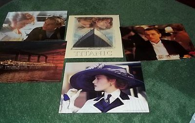 Titanic Lobby set of four cards - Woolworth's Promotional  c1998