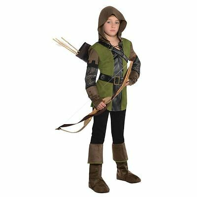Prince Of Thieves Robin Hood Fancy Dress Costume Outfit  8-10 Yrs World Book Day