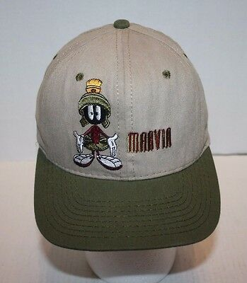 NEW Warner Bros. ACME Clothing Co Khaki Marvin the Martian Baseball Hat Youth S