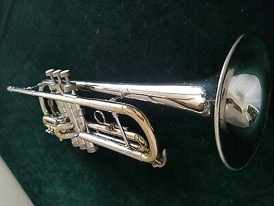 Early Vintage 1956 Conn Connstellation 28A Long Cornet with Original Case/ Nice!