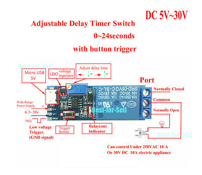 DC 12V 1A Auto CPU Smart Fan Speed Controller Governor With Temperature Sensor