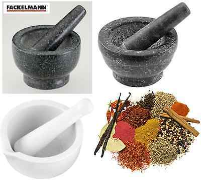 11/14/17cm Pestle And Mortar Herbs Spices Food And Ice Grinder Cooking Set New