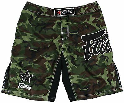 Fairtex Mma Boardshorts-Ab7-Camouflage-100% Polyester-Great For All Sport/casual