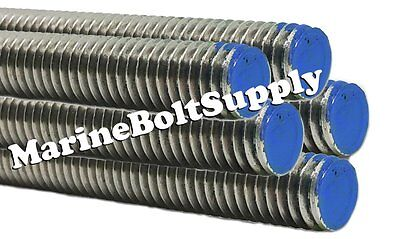 Type 18-8 Stainless Steel Threaded Rod / Stainless All Thread (3 Foot Sections)