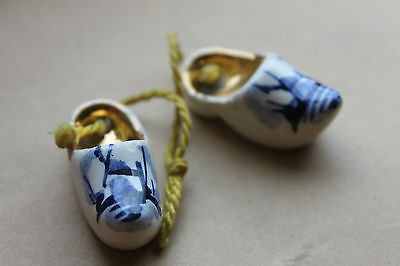 Pair of porcelain clogs
