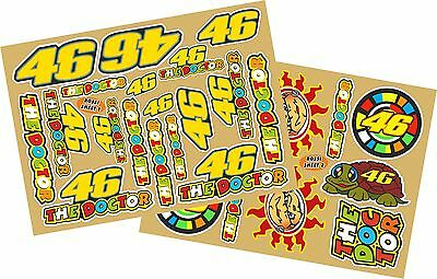 Rossi Valentino Decal  Collection sheets 1 + 2 of 28 quality printed stickers