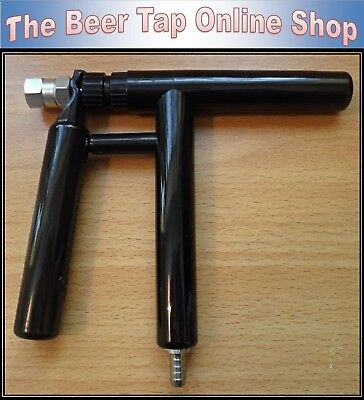 Beer Tap Pluto Gun Stainless / ABS Composite. Homebrew Party Tap Picnic Faucet