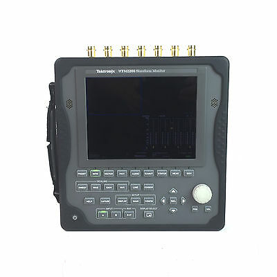 Tektronix WFM2200 Portable Waveform Monitor with Options 3G and Data