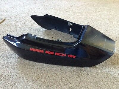 Honda CB1 CB400 F NC27.  Seat Tail Piece Cowling   Breaking Bike