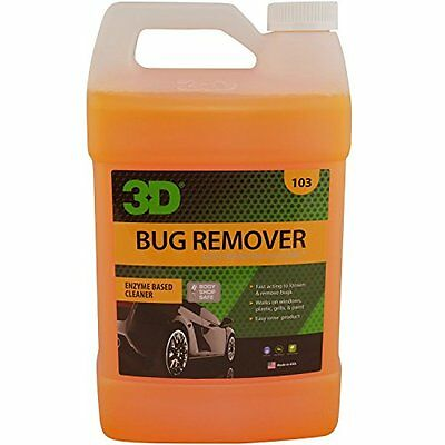 3D Auto Detailing Products Bug Remover 1 Gallon Concentrate