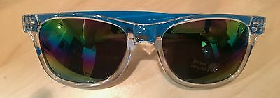 Suicide Squad Clear/blue Uv 400 Sunglasses **new** Harley Quinn Dc Comics Wb