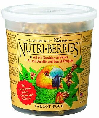 Lafeber Nutri Berries Classic Parrot All Benefit Foraging 12 oz