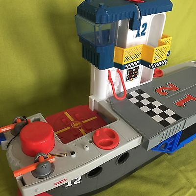 REDUCED! Fisher Price Imaginext Aircraftcarrier Ship Playset Toy For Sale