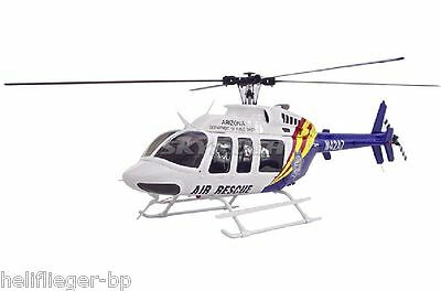 Scale Heli Bell 407 Air Rescue with COMPACTOR 470 Mechanics