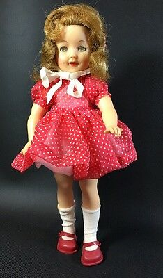 """Ideal Shirley Temple 12"""" Doll Imperfect ST-12 1950's 2D"""
