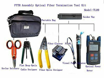 Sunwin FTTH-TL09 Assembly Optical Fiber Termination Tool Kit With FC-6S Fiber...