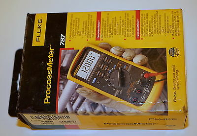 Fluke 787 Processmeter Process Meter Loop Calibrator W Ma Source Dmm New Os