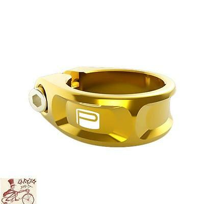 Promax Fc-1 Fixed 25.4Mm Gold Bicycle Seat Clamp
