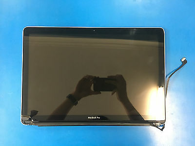 Apple Macbook Pro A1286 LCD Screen assembly + Back Cover + Hinges Display cable