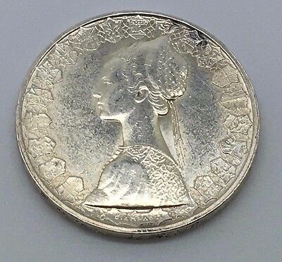 1958 Italy Silver 500 Lire Coin Free Shipping