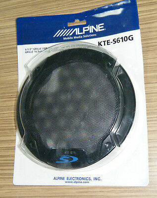 Speaker Grills - ALPINE KTE S610G - Car Audio for SPS 610C & SPS 610 - NEW
