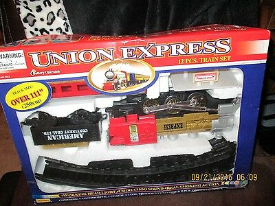 New Union Expess Train 12 Pc. Set
