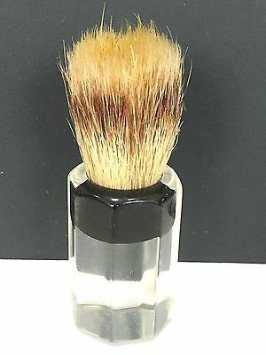 Vintage Shaving Brush Ever-Ready Clear Lucite Handle