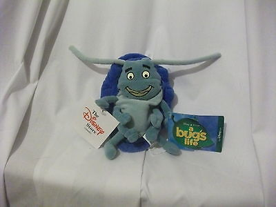 """7"""" cute soft tuck from a bug's life disney store plush  doll new tag"""