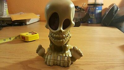 Battery Operated Moving Skull Head Body with Lighting Eyes -  Halloween Costume