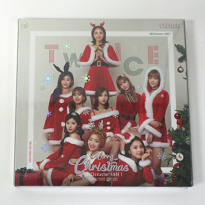 TWICE - TWICEcoaster [Christmas Edition] Photobook+Photocard+Poster+Free Gift
